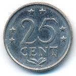 Антильские острова, 25 центов (1980 г.)