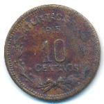 Герреро, 10 сентаво (1915 г.)