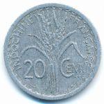 Французский Индокитай, 20 центов (1945 г.)