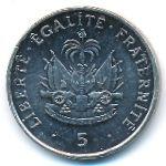 Гаити, 5 сентим (1997 г.)