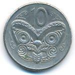 Новая Зеландия, 10 центов (1981 г.)