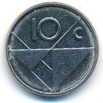 Аруба, 10 центов (2009–2012 г.)