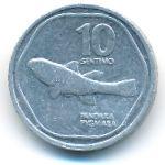 Филиппины, 10 сентимо (1989–1991 г.)