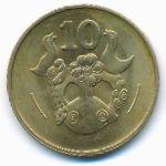 Кипр, 10 центов (1983 г.)