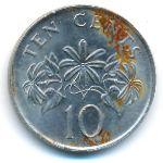 Сингапур, 10 центов (2003–2007 г.)