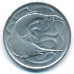 Сингапур, 20 центов (1972 г.)