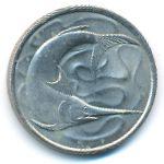 Сингапур, 20 центов (1980 г.)
