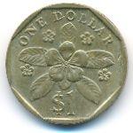 Сингапур, 1 доллар (1989 г.)