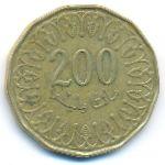 Тунис, 200 миллим (2013 г.)
