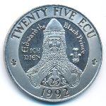 Уэльс, 25 экю (1992 г.)