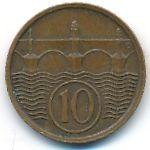 Чехословакия, 10 гелеров (1922–1938 г.)