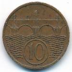 Чехословакия, 10 гелеров (1937–1938 г.)