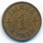 Исландия, 1 эйрир (1938 г.)
