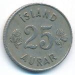 Исландия, 25 эйре (1951 г.)