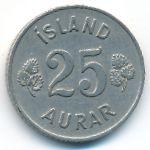 Исландия, 25 эйре (1954 г.)