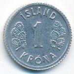 Исландия, 1 крона (1980 г.)