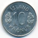 Исландия, 10 крон (1980 г.)
