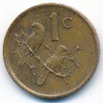 ЮАР, 1 цент (1988 г.)