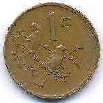 ЮАР, 1 цент (1981 г.)