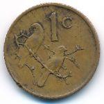 ЮАР, 1 цент (1973 г.)