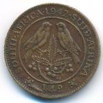 ЮАР, 1/4 пенни (1942–1943 г.)