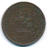 ЮАР, 1 пенни (1934–1936 г.)