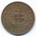 ЮАР, 1 пенни (1957 г.)