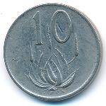 ЮАР, 10 центов (1970 г.)