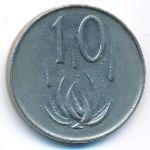 ЮАР, 10 центов (1971 г.)