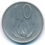 ЮАР, 10 центов (1974 г.)