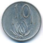 ЮАР, 10 центов (1980 г.)