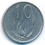 ЮАР, 10 центов (1981 г.)