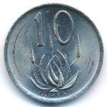 ЮАР, 10 центов (1985 г.)