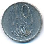 ЮАР, 10 центов (1986 г.)