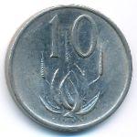 ЮАР, 10 центов (1987 г.)