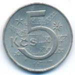 Чехословакия, 5 крон (1966–1984 г.)