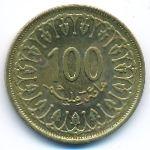 Тунис, 100 миллим (2013 г.)