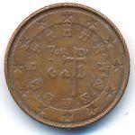 Португалия, 1 евроцент (2007 г.)