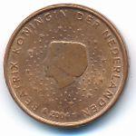 Нидерланды, 1 евроцент (2004 г.)
