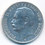 Баден, 3 марки (1908 г.)