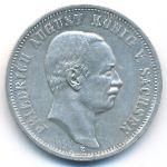 Саксония, 3 марки (1909–1913 г.)