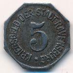 Равенсбург., 5 пфеннигов (1918 г.)