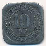 Фройденштадт., 10 пфеннигов (1918 г.)