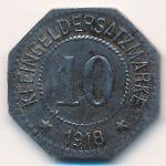 Херсфельд., 10 пфеннигов (1918 г.)
