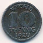 Галле., 10 пфеннигов (1920 г.)