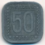 Людвигсхафен., 50 пфеннигов (1918 г.)