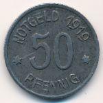 Люденшайд., 50 пфеннигов (1919 г.)