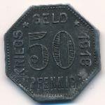 Менген., 50 пфеннигов (1918 г.)