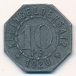 Мергентхайм., 10 пфеннигов (1920 г.)