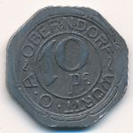 Оберндорф., 10 пфеннигов (1918 г.)